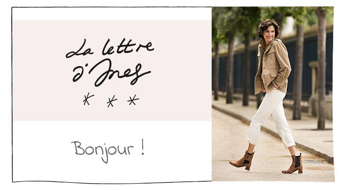 La lettre d'Ines - Bonjour